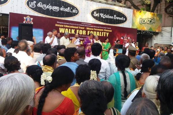 Statue of Equality Walk in Chennai